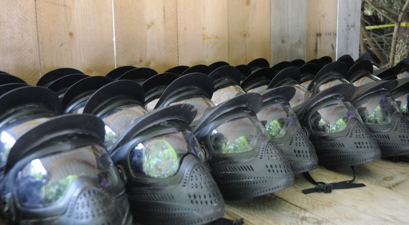 Casques paintball