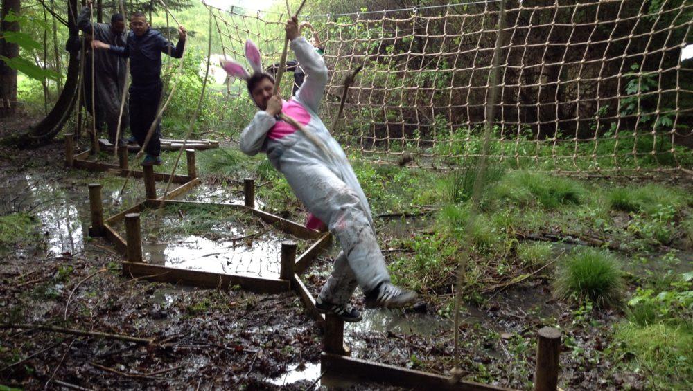 Mud team lapin
